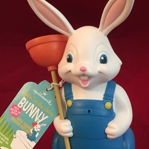Jokin' in the John motion activated Singing Bunny